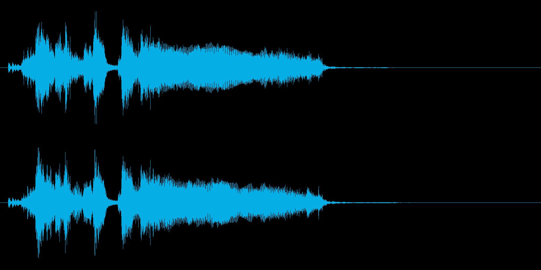 あっさりした勝利ジングル(ブラスVer)の再生済みの波形