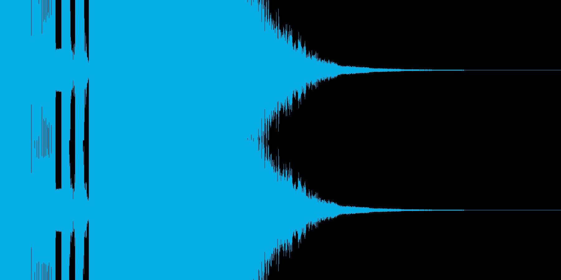 遊技機系 決定音の再生済みの波形