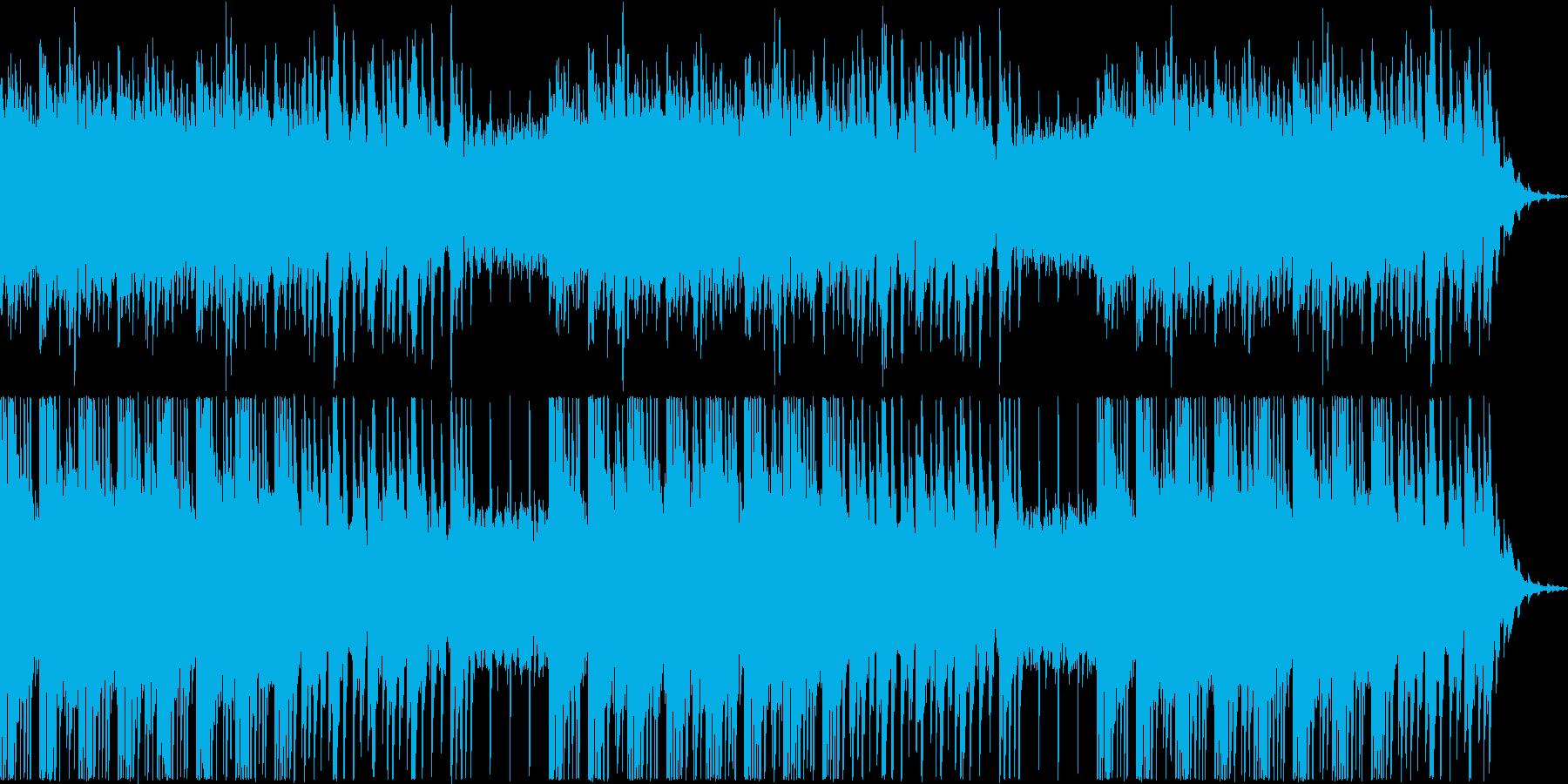 切ない感動的な雰囲気のピアノバラードの再生済みの波形