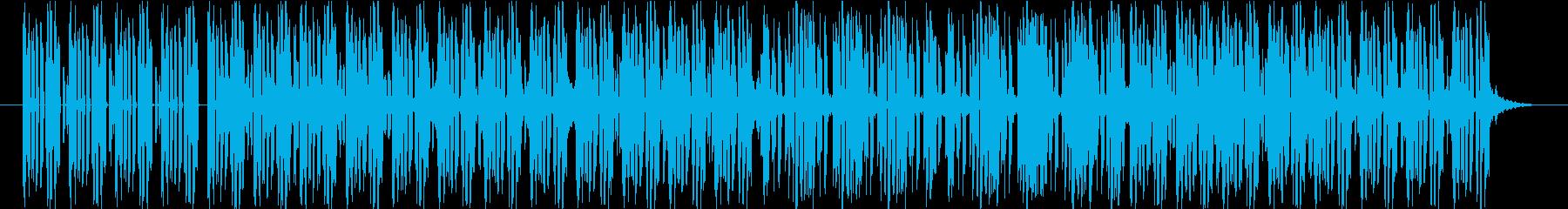 軽快でポップなテクノ楽曲 No.1の再生済みの波形