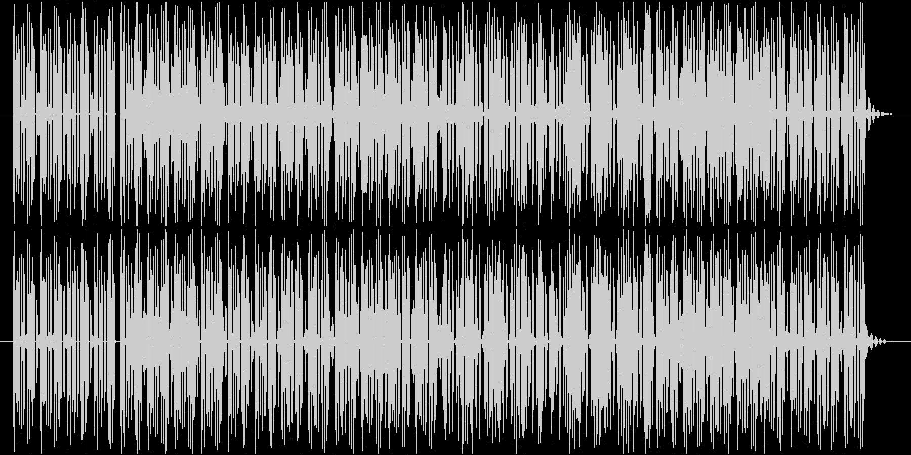 軽快でポップなテクノ楽曲 No.1の未再生の波形