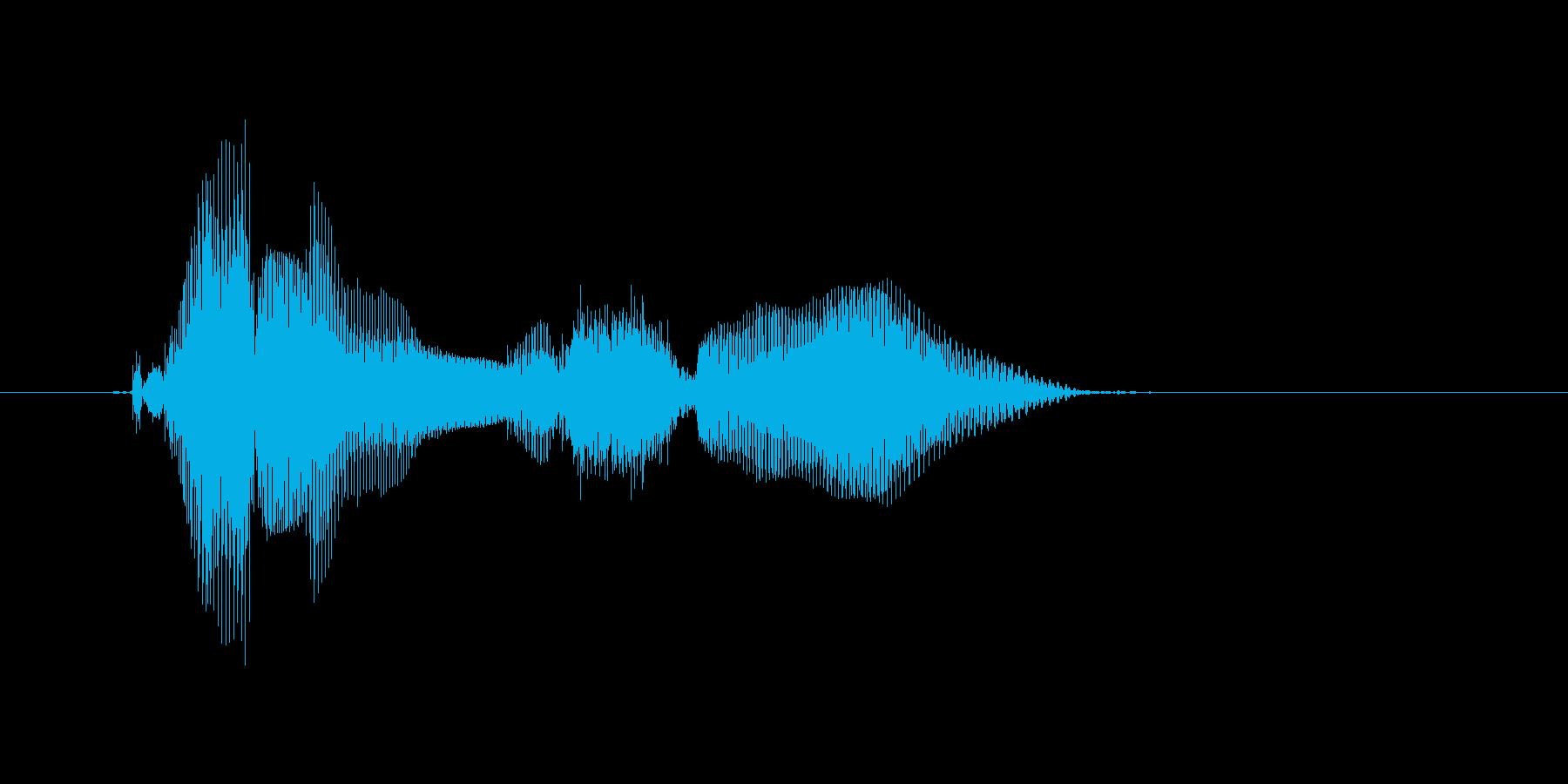 Coming soon…の再生済みの波形