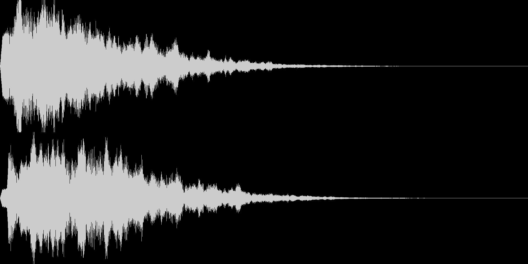 サウンドロゴ17(シンセ系)の未再生の波形