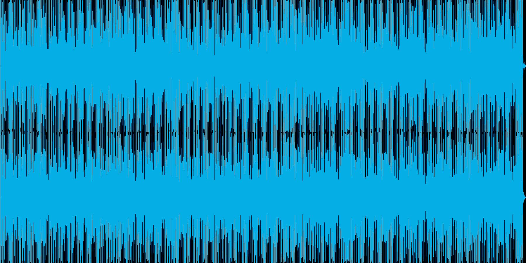 ほのぼの系リズミカルBGMの再生済みの波形