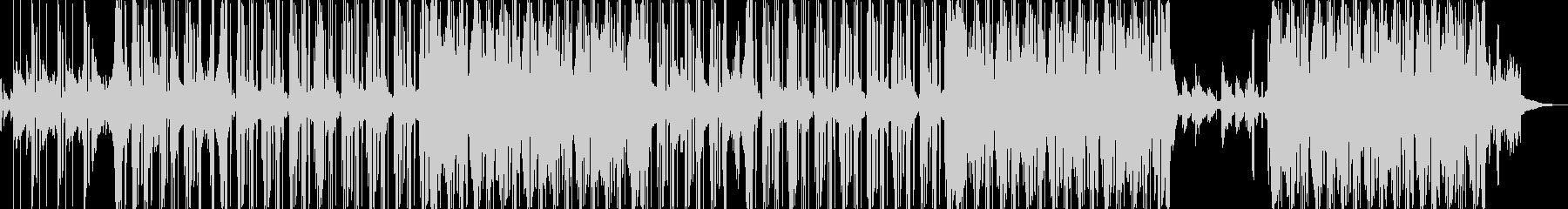 ピアノとノイズリズムで作る切ないトラックの未再生の波形