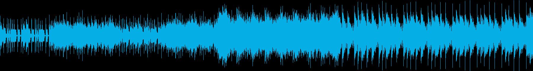 緊迫の戦い シネマティック ループの再生済みの波形