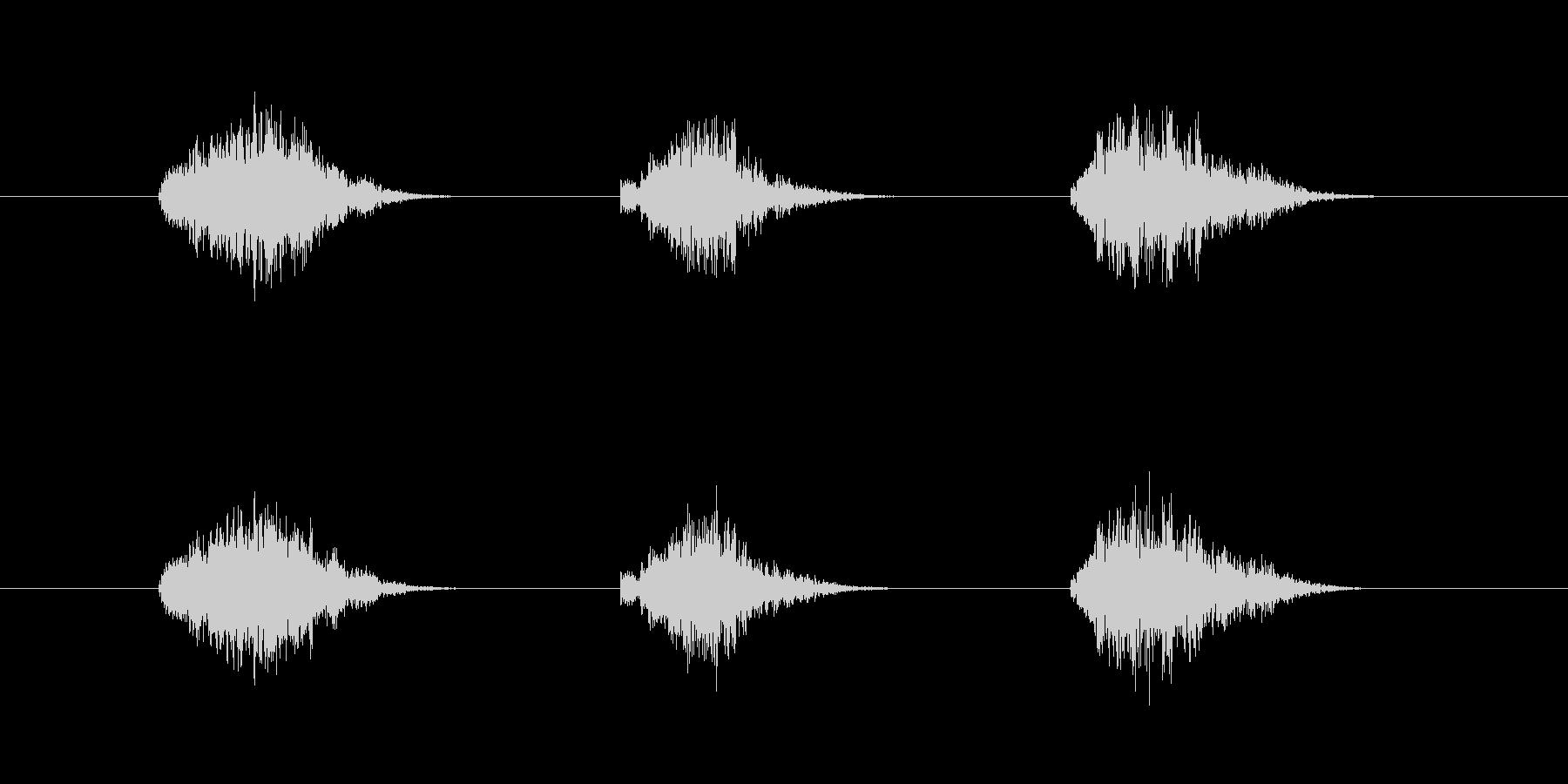 ゲーム等、開始前カウント(3-2-1)Hの未再生の波形