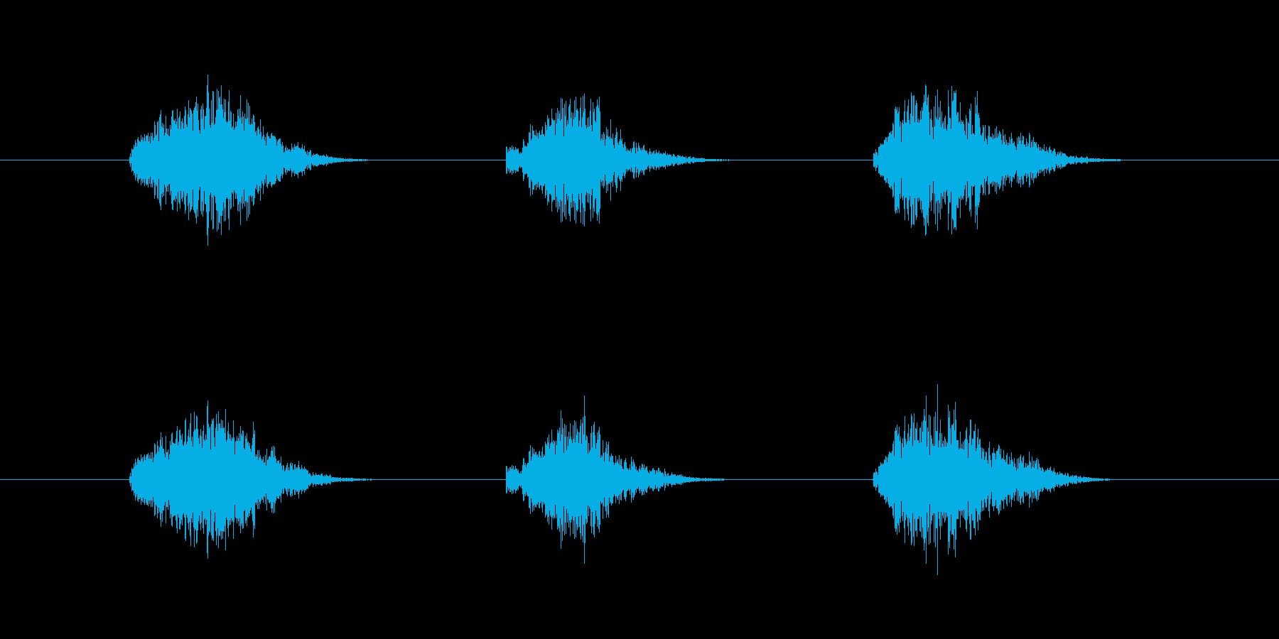 ゲーム等、開始前カウント(3-2-1)Hの再生済みの波形