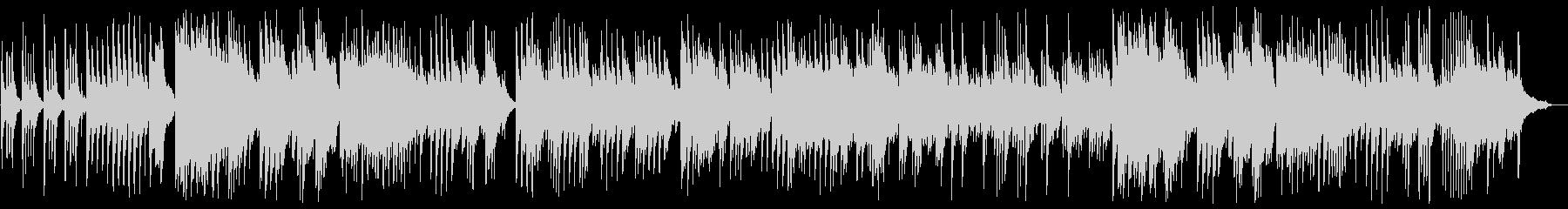 切ないピアノのリラクゼーション音楽の未再生の波形