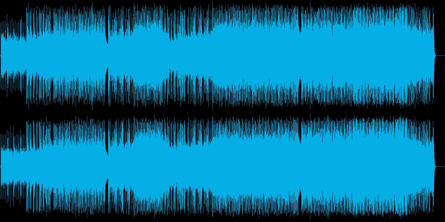 飛び散るフェロモンの再生済みの波形