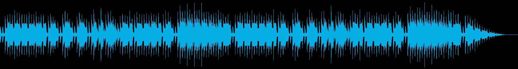 8bitクラシック-Je te veuxの再生済みの波形