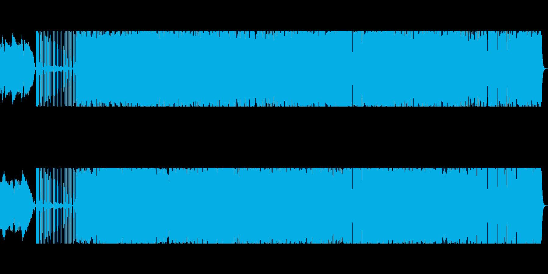 プロが作曲 テクノ ベースの再生済みの波形