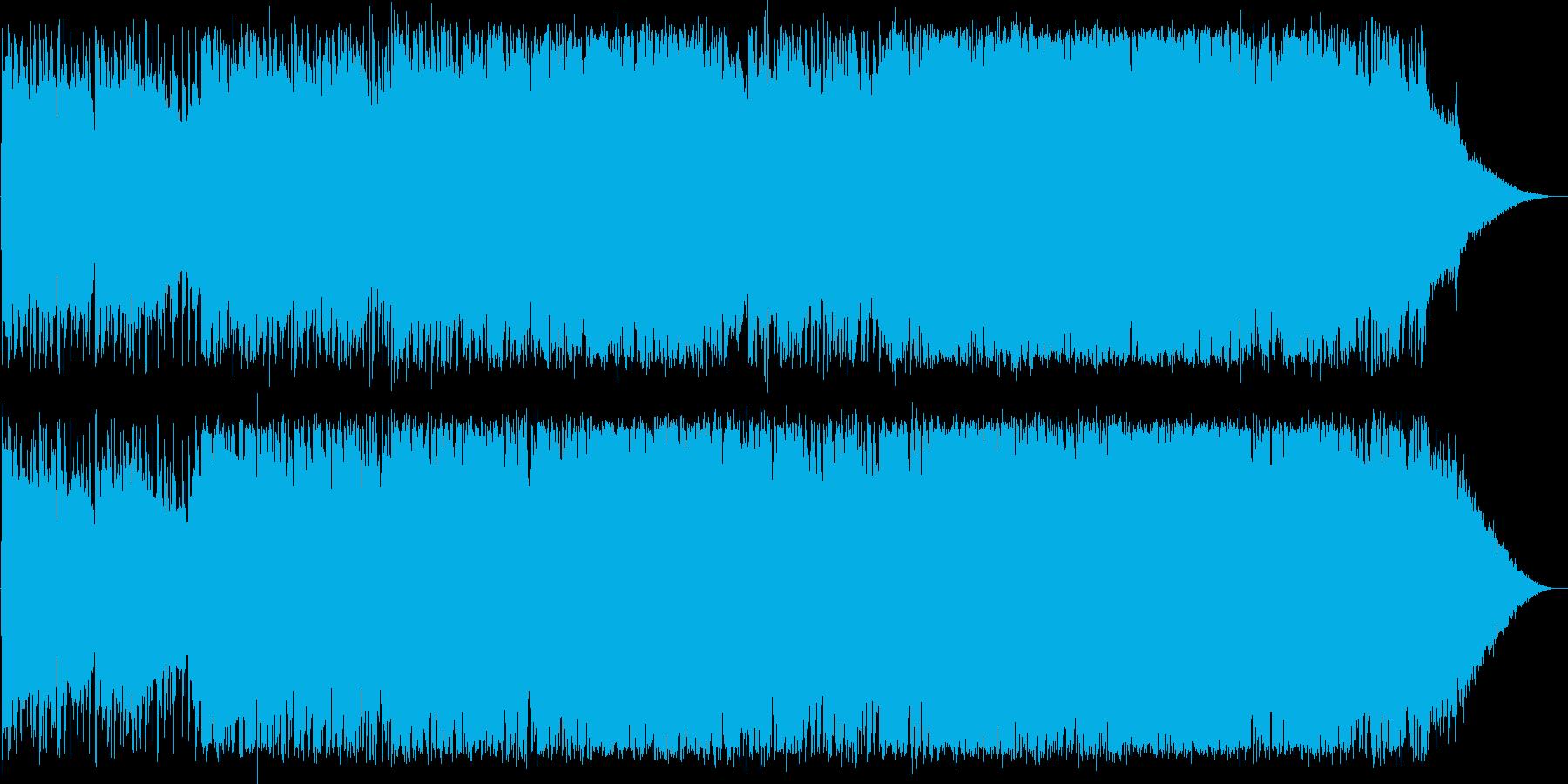泣けるバラードの再生済みの波形