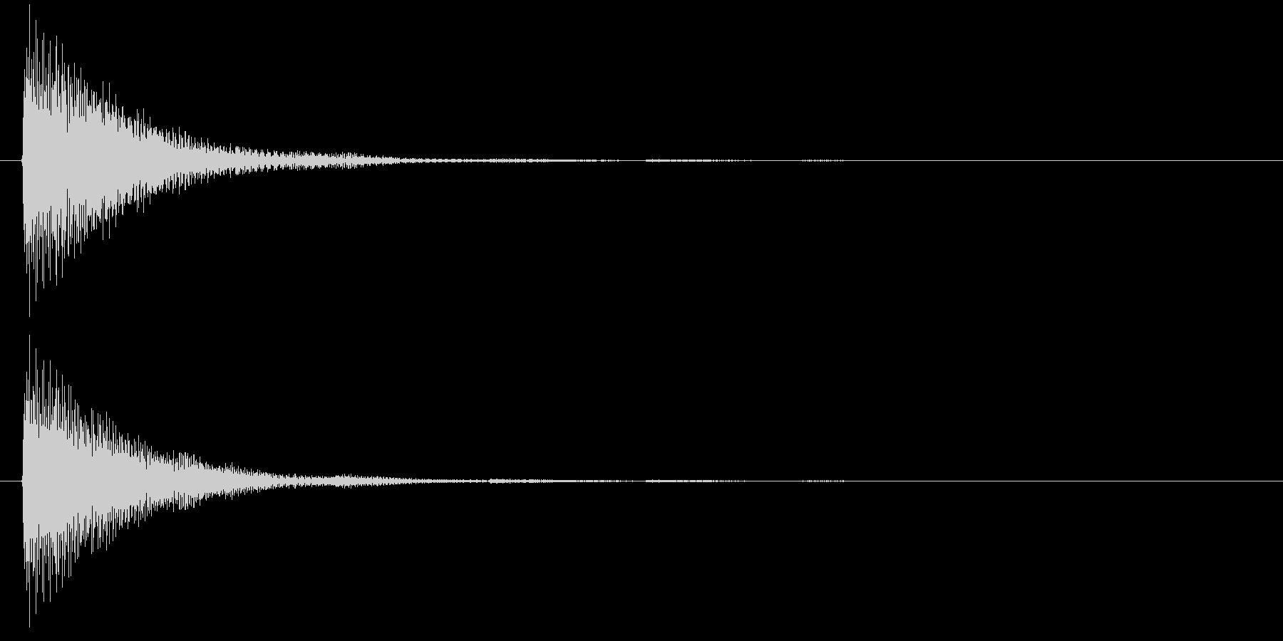 アプリ・ゲームの決定音_013の未再生の波形