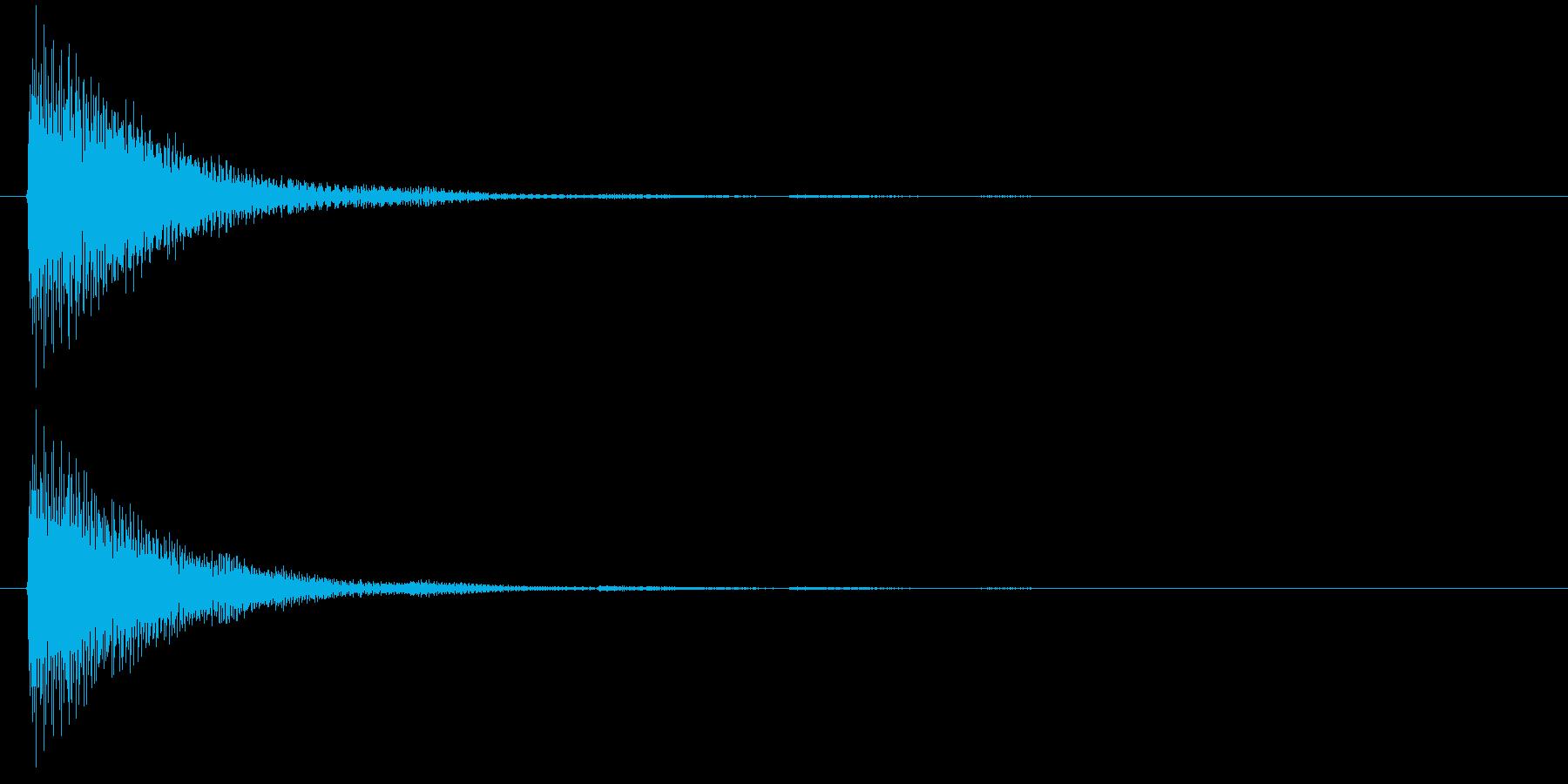 アプリ・ゲームの決定音_013の再生済みの波形
