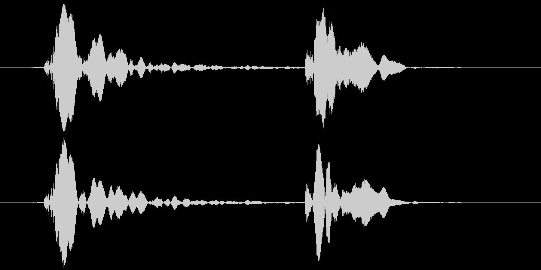 ピコピコハンマー ピコッ (低め)の未再生の波形