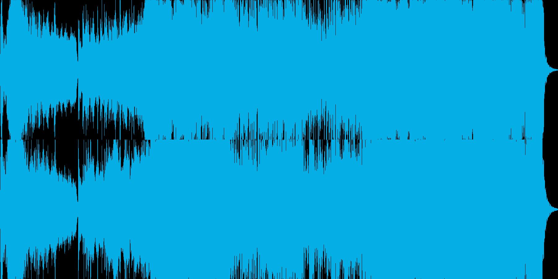 和風管弦楽「天道山河は霧のなか」 の再生済みの波形
