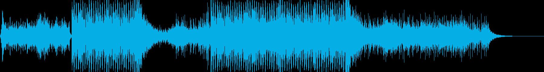2人で星空の下をドライブする曲の再生済みの波形
