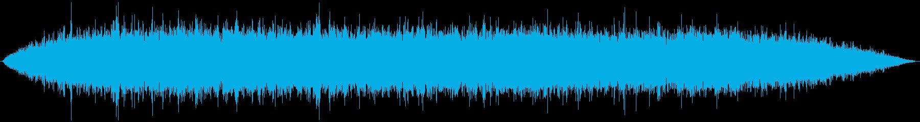ジュゥゥゥ (焼く)の再生済みの波形