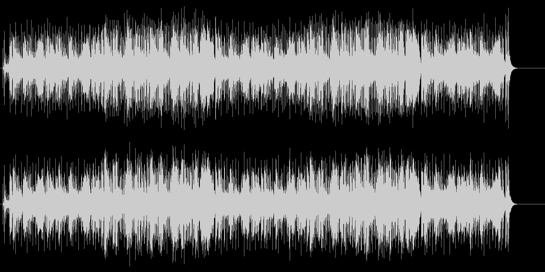 エレクトロなブラスのミディアム・ポップスの未再生の波形
