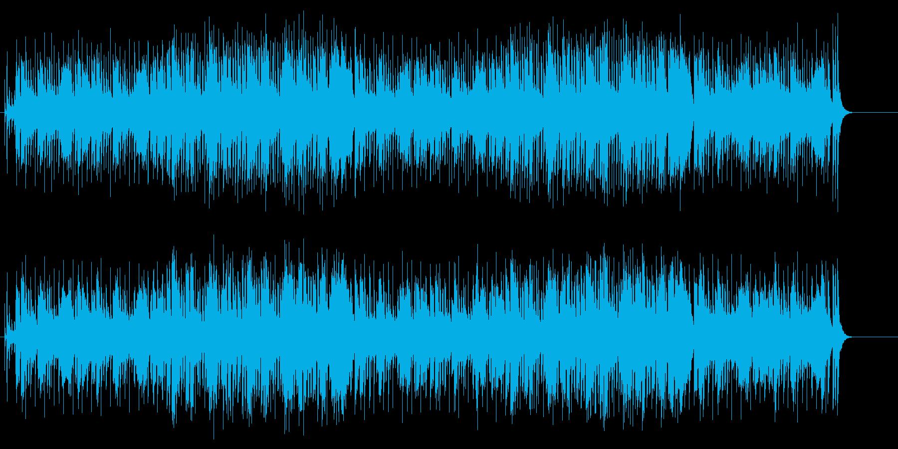 エレクトロなブラスのミディアム・ポップスの再生済みの波形
