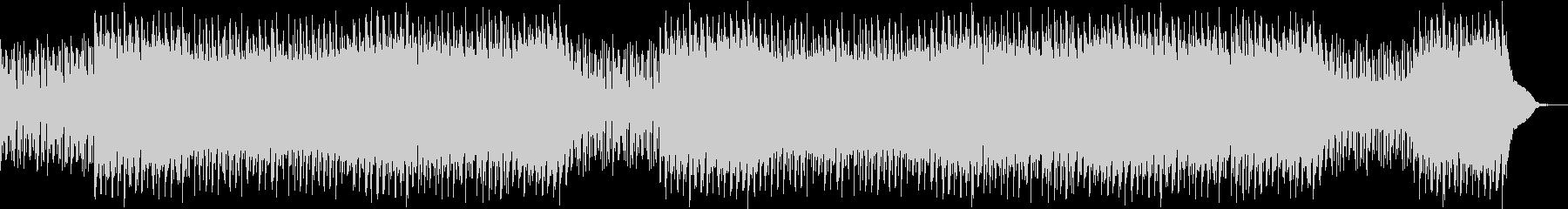 謎めいた興味深い音楽の未再生の波形
