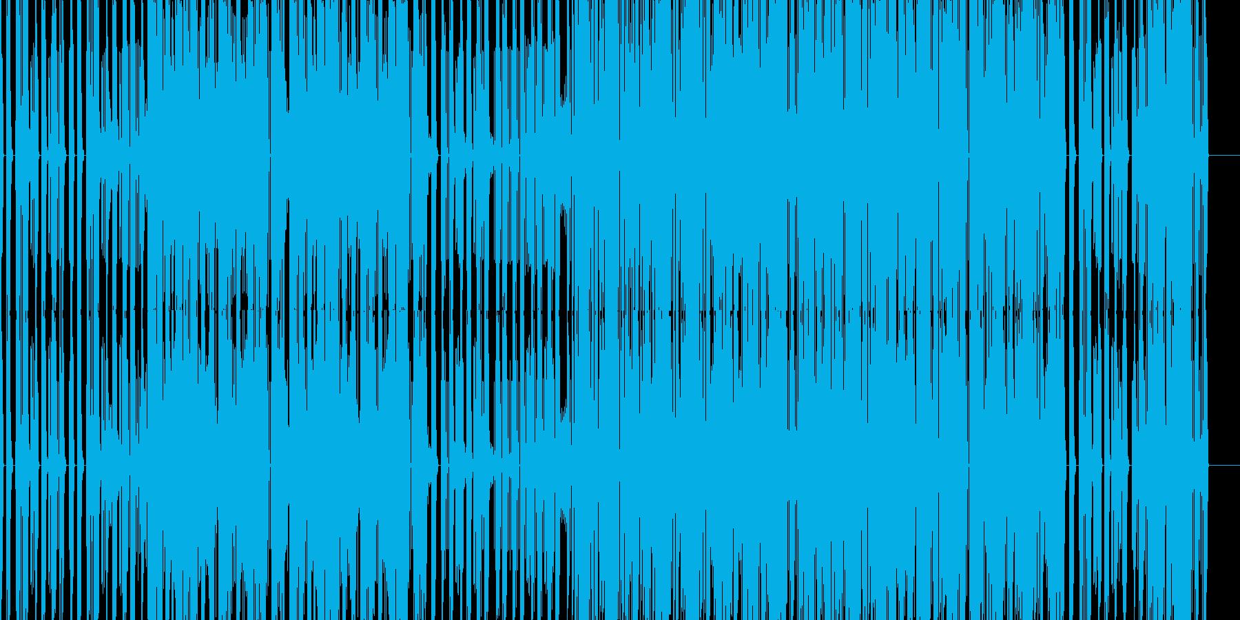 無機質なエレクトロニカの再生済みの波形