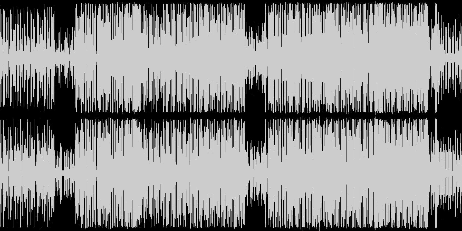 ループ、シューティング、レース向けBGMの未再生の波形