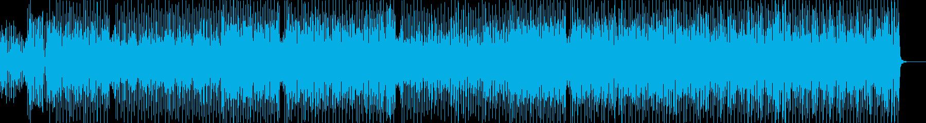 ほのぼのときめきポップスの再生済みの波形