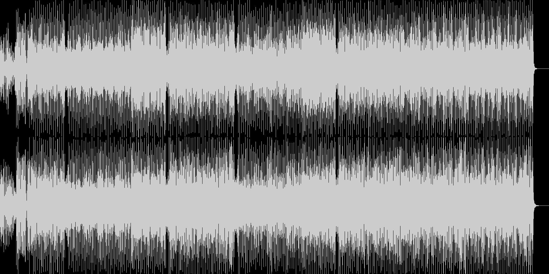 ほのぼのときめきポップスの未再生の波形