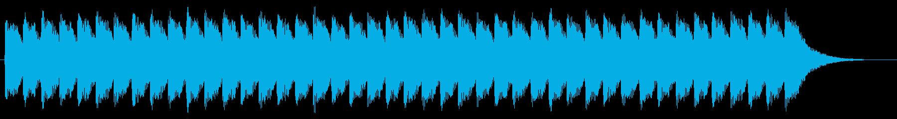 踏切 警報音01-2の再生済みの波形