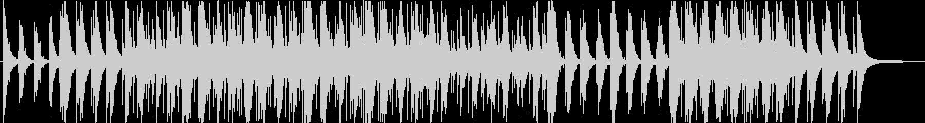 優雅で透明感のあるピアノエレクトロニカの未再生の波形