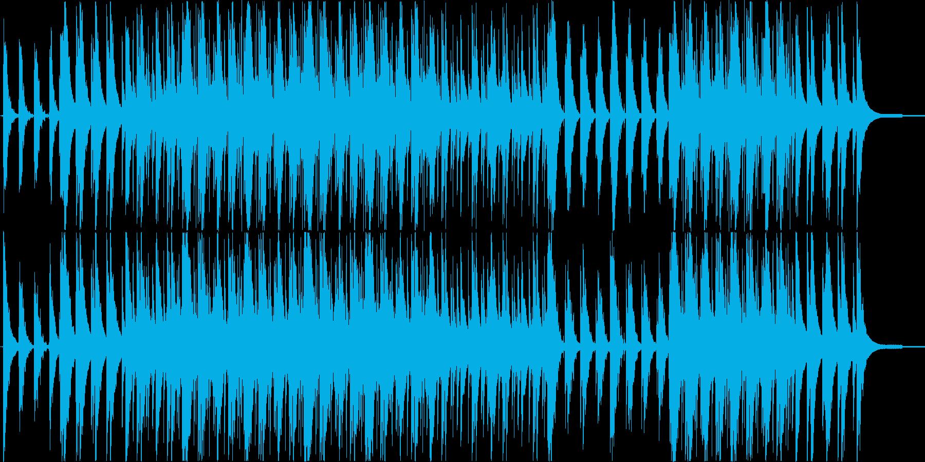 優雅で透明感のあるピアノエレクトロニカの再生済みの波形