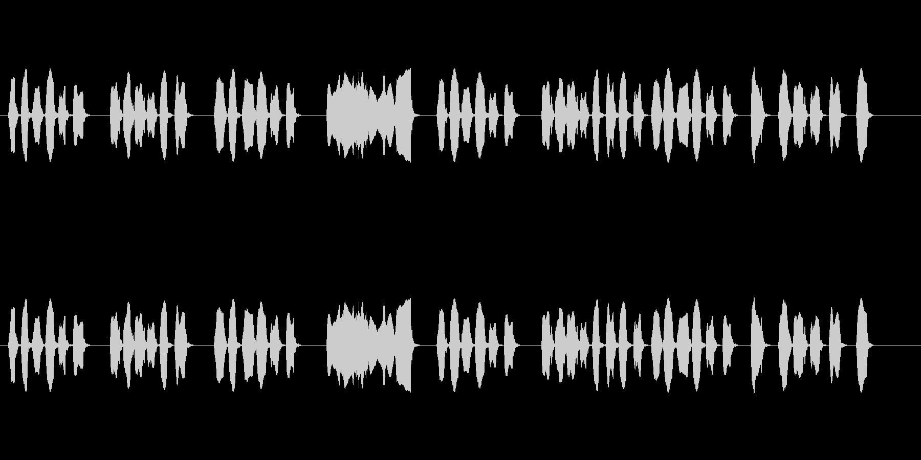 リコーダー単体で演奏された楽曲です。シ…の未再生の波形