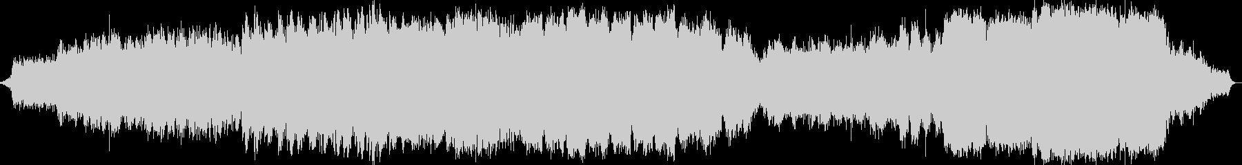 シンセサイザーオーケストラ音楽の未再生の波形