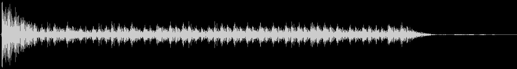 ドコドコドコドコ…(和太鼓、ロール)の未再生の波形