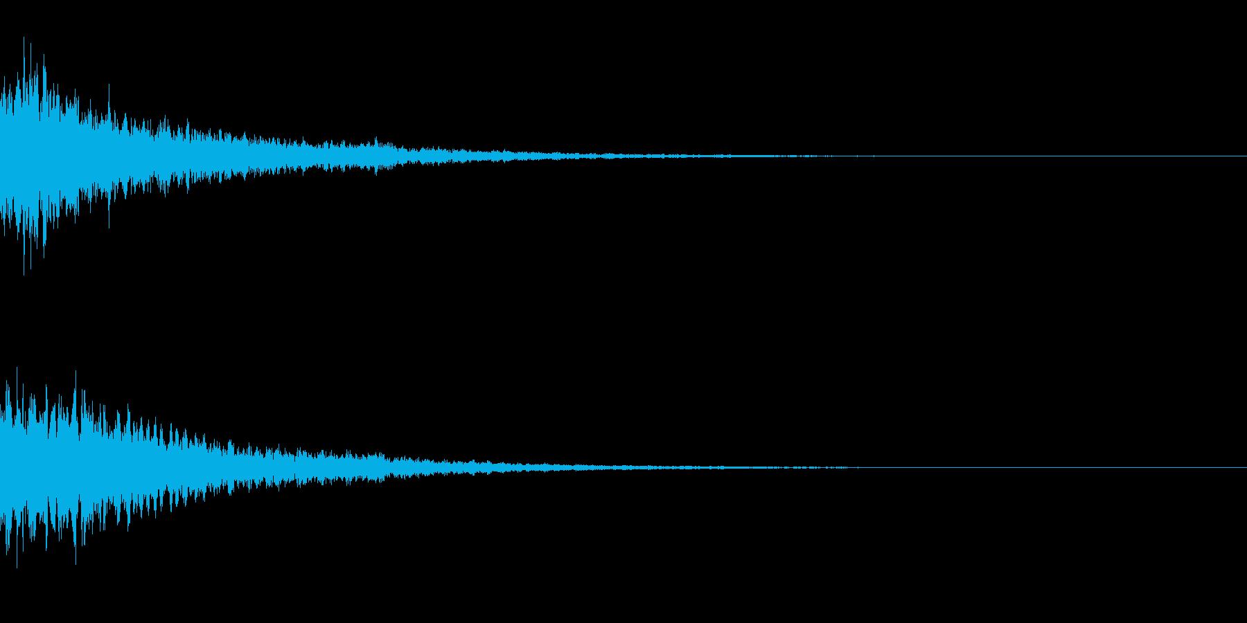 キーン(テロップ) キーン(通販_高級)の再生済みの波形