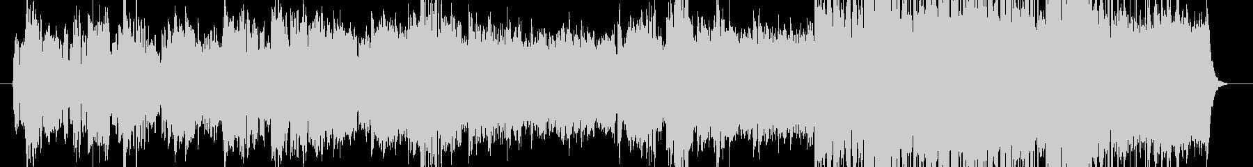 ゆったりとした和風BGMの未再生の波形