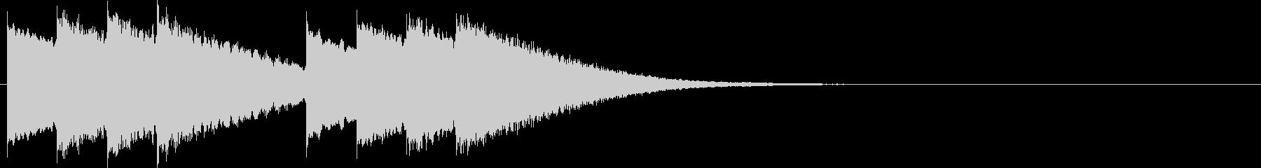 キンコン..。学校のチャイムD(短)の未再生の波形