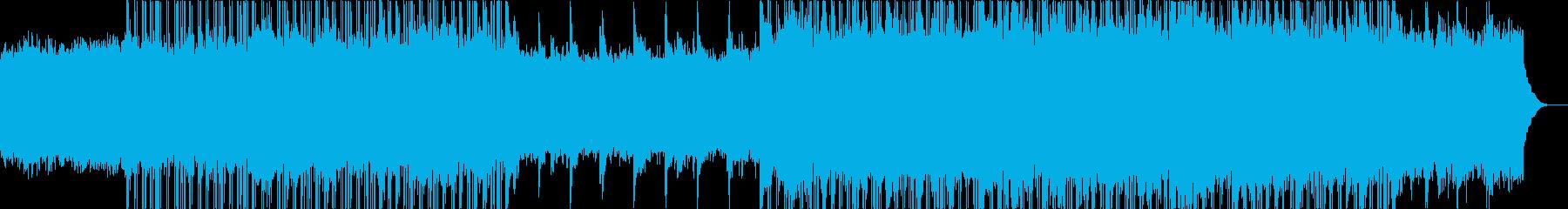 雄大なチルアウトミュージック。の再生済みの波形