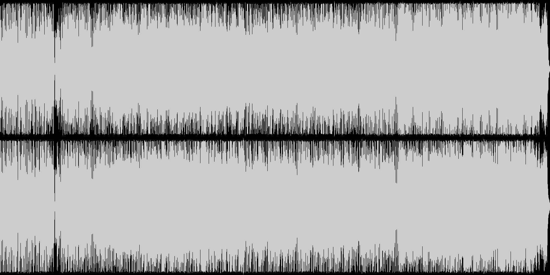 G線上のアリア/ボサノバアレンジの未再生の波形