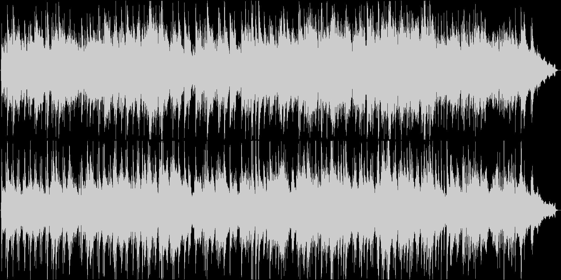 癒しピアノ・ソロ。3分弱の温かいバラードの未再生の波形