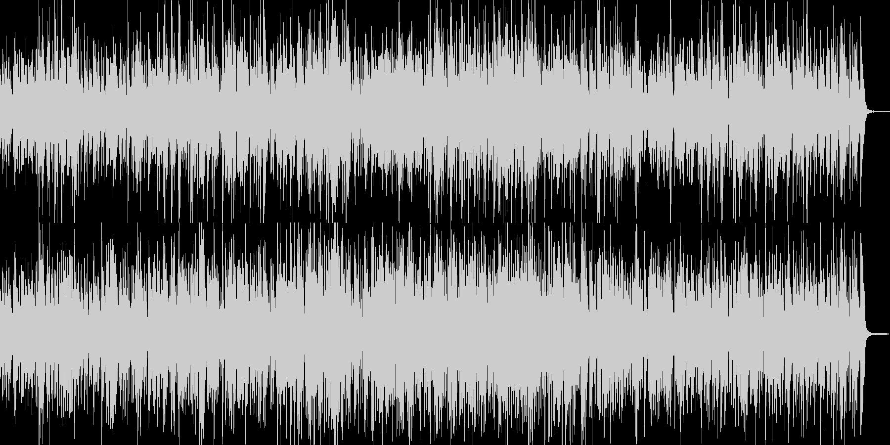 ピアノ・トリオNo.3の未再生の波形