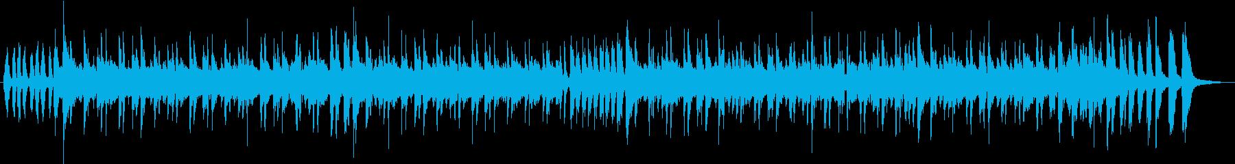 スチールパンのカリビアンなポップジングルの再生済みの波形
