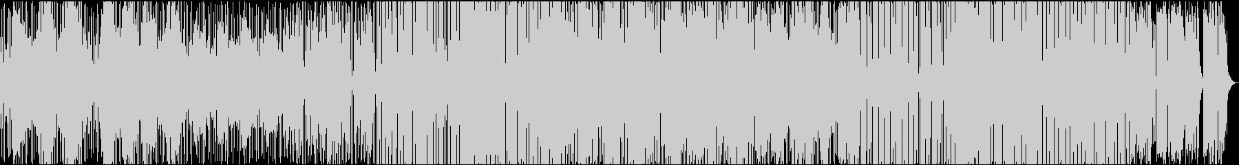 ボーカルトラック有のエンディング風BGMの未再生の波形