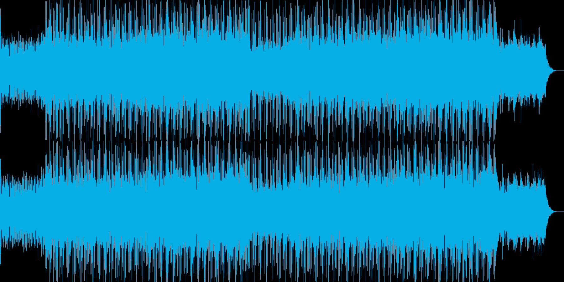 企業VPイベントアップテンポBGM-19の再生済みの波形