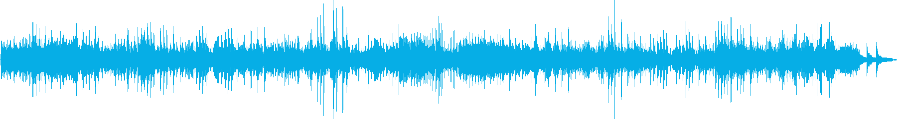 ベートーベンの名曲、月光をピアノ演奏での再生済みの波形