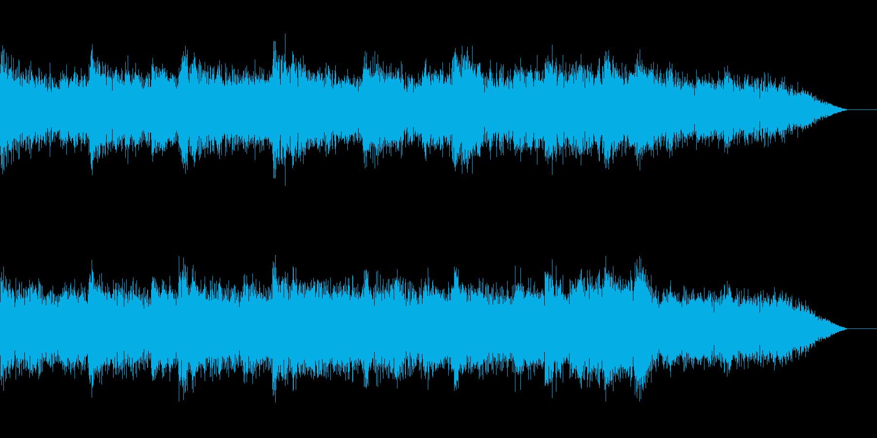 冬を感じるBGMの再生済みの波形