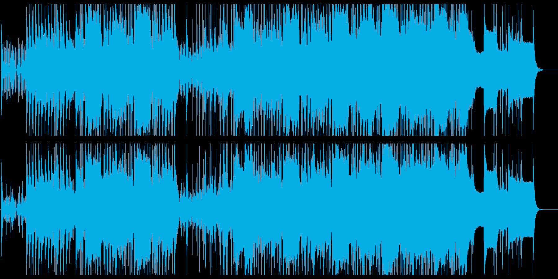 高級な雰囲気のアンビエントの再生済みの波形