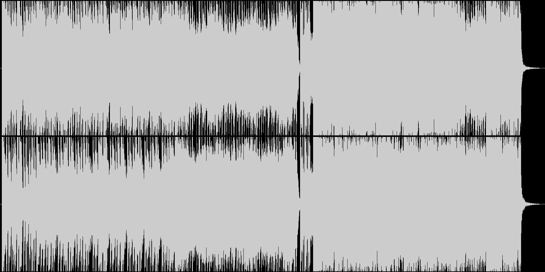 アニソンED風バイオリンテクノバラード♪の未再生の波形